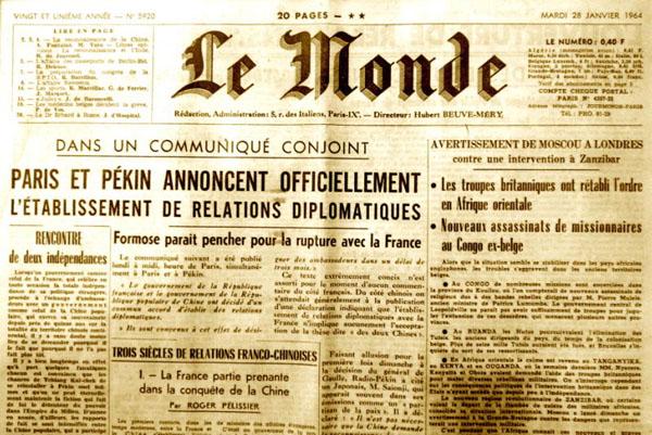 Le Monde 1964