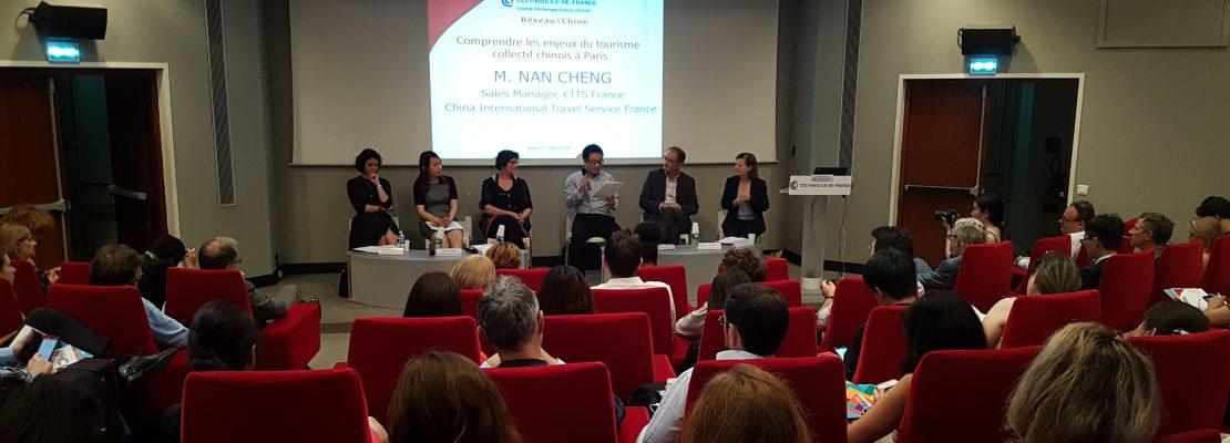 Jeudi 31 mai 2018 – Les touristes chinois à Paris : Comment séduire cette clientèle ?