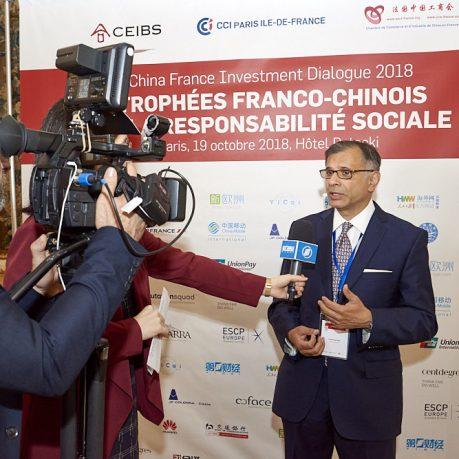 Lundi 20 mai 2019 – Rencontre- débat sur la prise de conscience RSE des entreprises chinoises et françaises – Lancement des trophées franco-chinois de la RSE