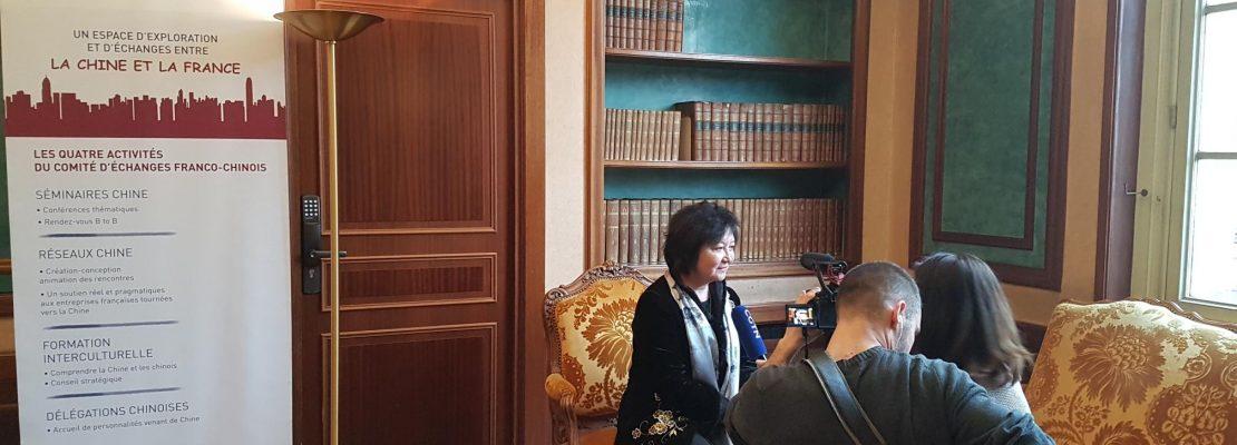 Découvrez les activités du CEFC – Interview de Madame SU PELLEMELE par CGTN France