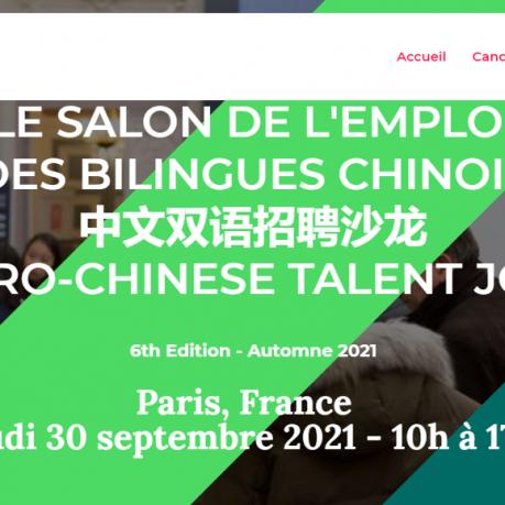 88JOBS DAY : le salon de l'emploi des bilingues chinois